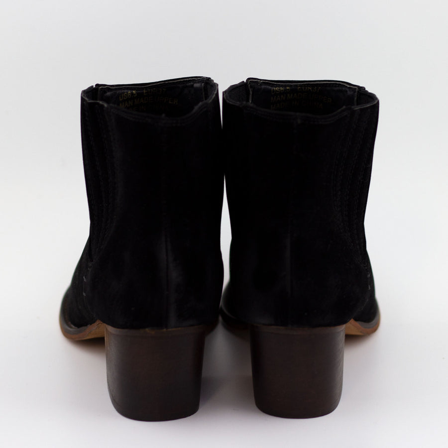 witt black short bootie