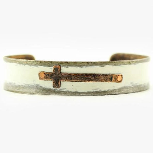 ella jude thick cross cuff