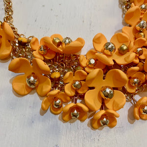 field of flowers necklace