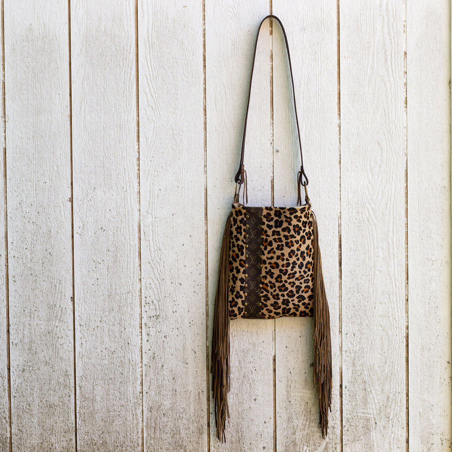 hazel large cowhide bag