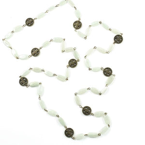 squire gemstone layering necklace