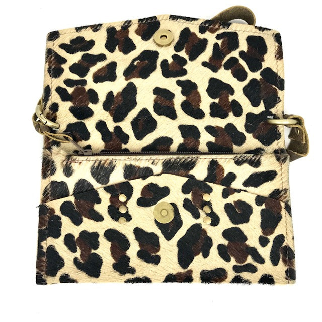 jordan big leopard cowhide cross body