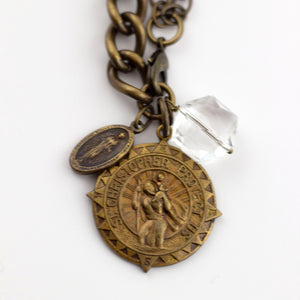 old world coin transition necklace