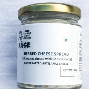 Herbed, garlic cheese spread