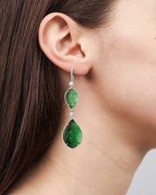 Load image into Gallery viewer, Atocha Art Deco Drop Earrings