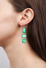 Load image into Gallery viewer, Atocha White Gold Drop Earrings