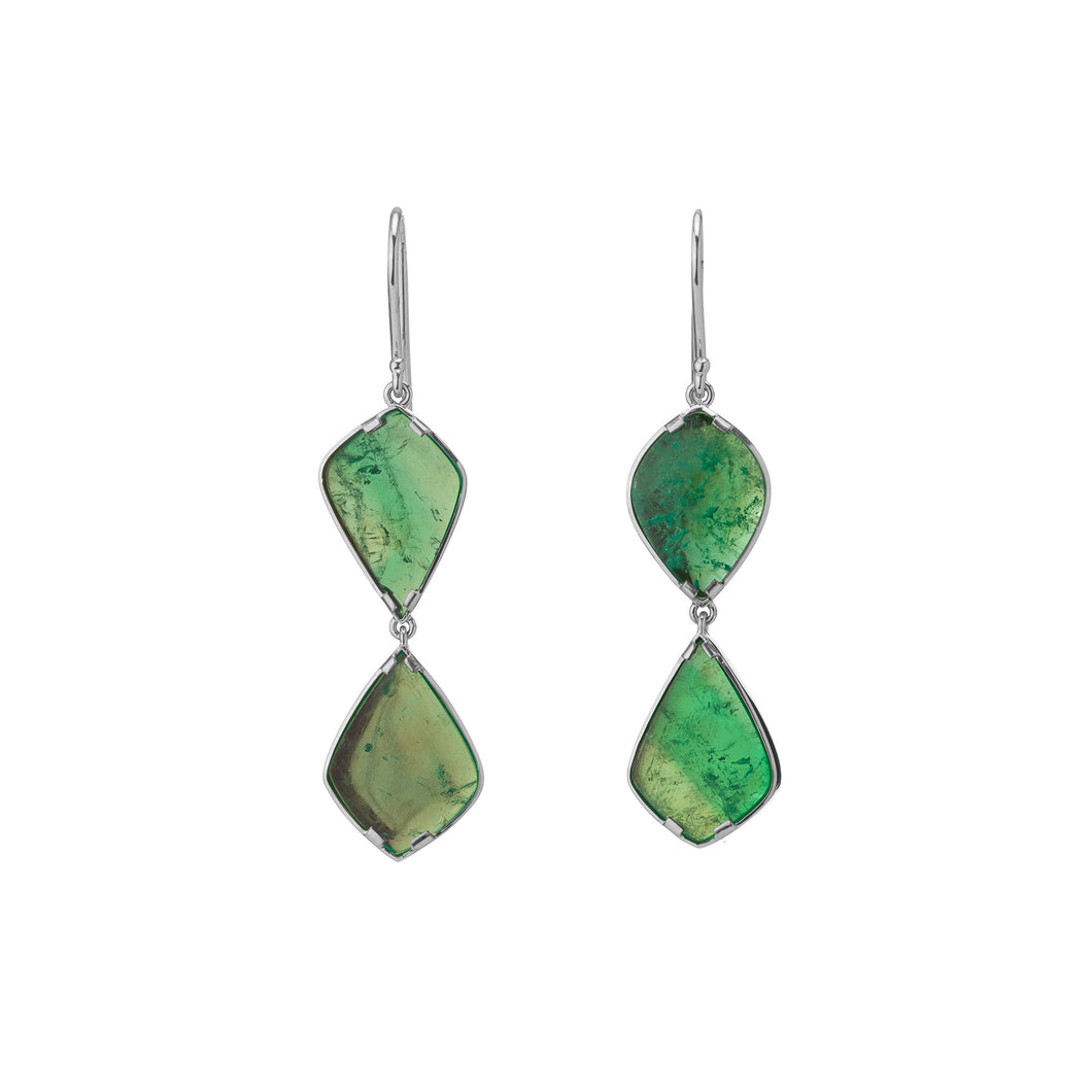 Muzo Atocha Art Deco Drop Earrings