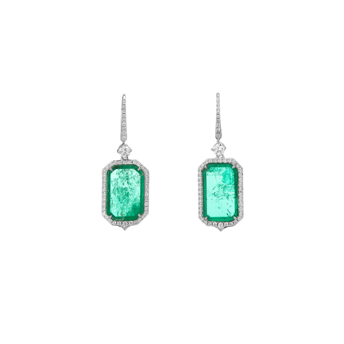 Atocha Classic Art Deco Drop Earrings