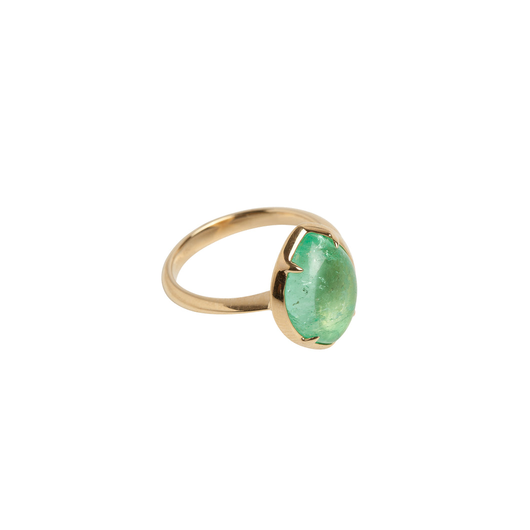Chakana Yellow Gold Cocktail Ring
