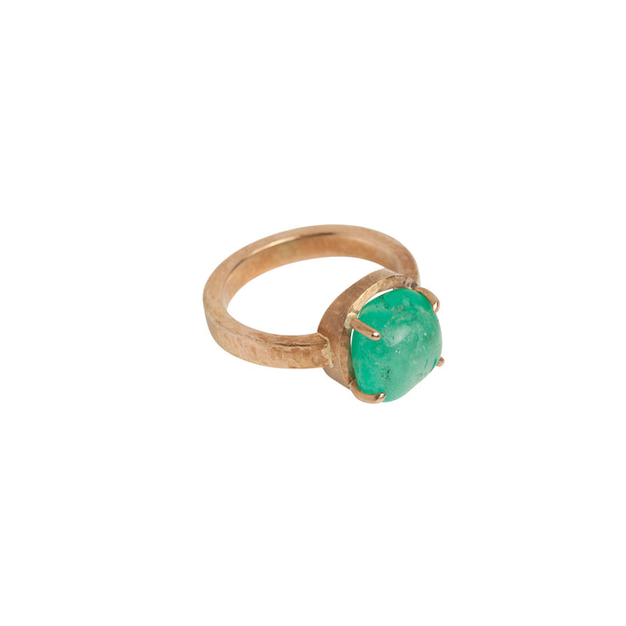 Muzo Chakana Yellow Gold Cocktail Ring