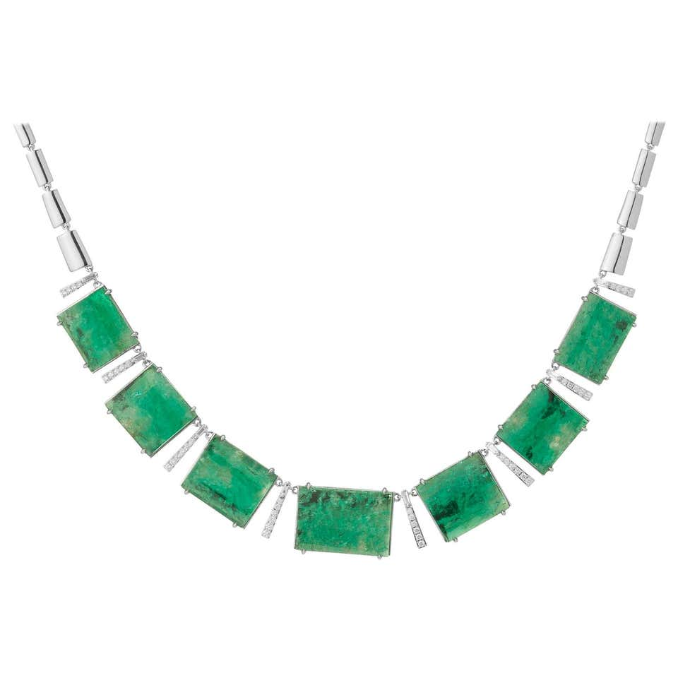 Emerald Choker Necklace