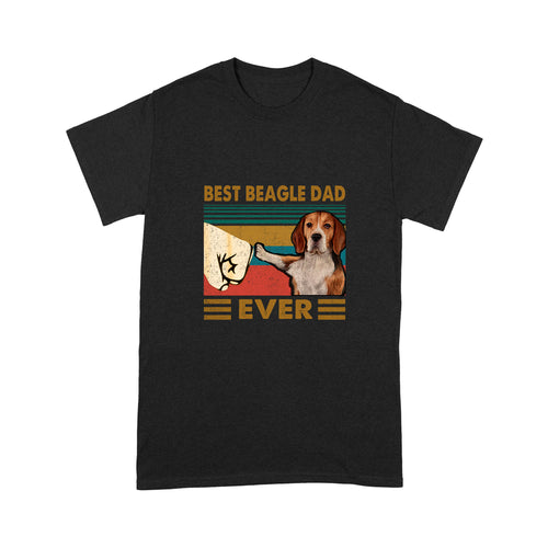 Best Beagle Dad Ever T shirt