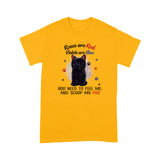 Roses Are Red Violets Are Blue Black Cat T Shirt Lovely