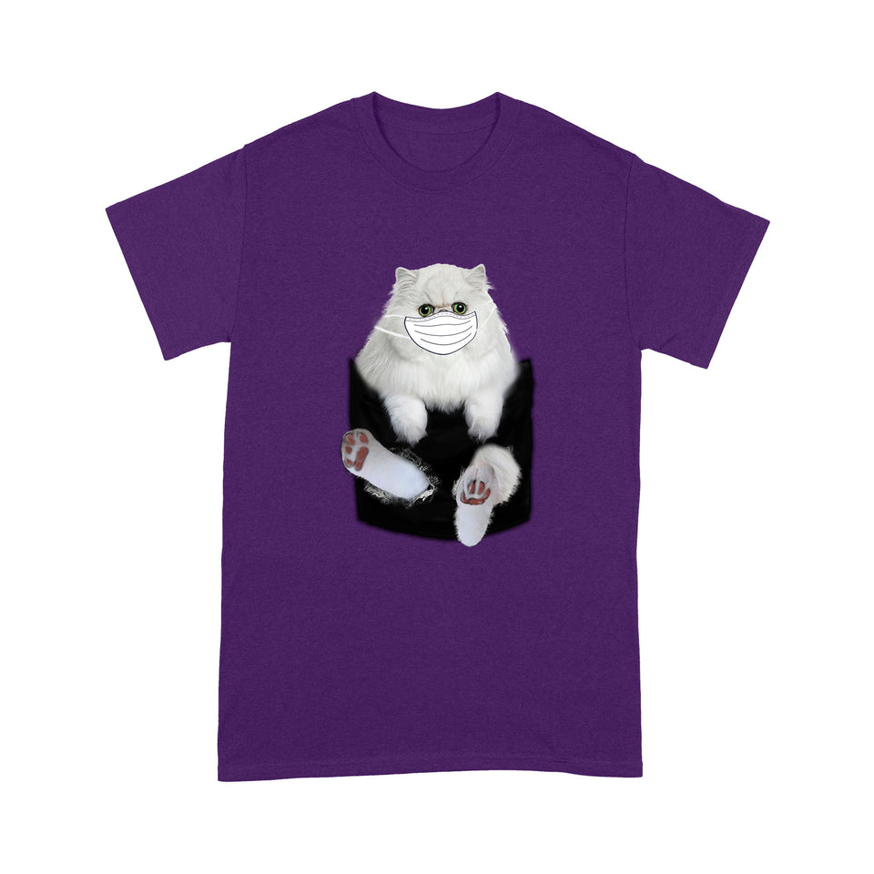 Persian Cat 3D Scratch T Shirt Funny