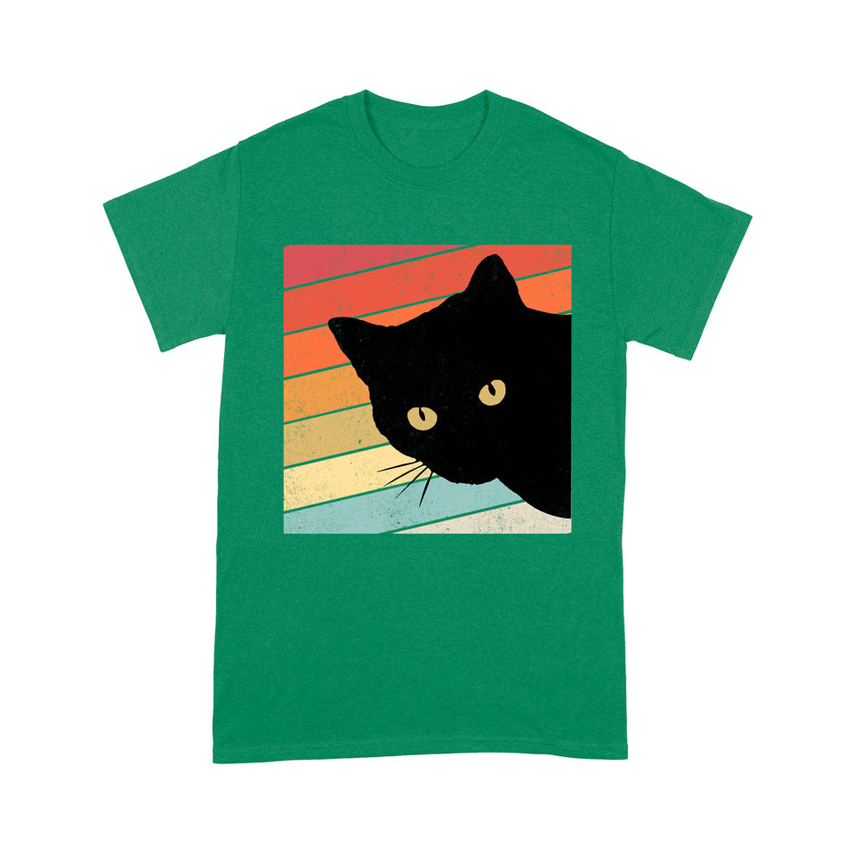 Cat Hide And Seek Lovely Cute Funny Print T shirt