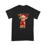 Christmas Dog Chihuahua T shirt