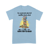 Funny Bookaholic Elephant T Shirt