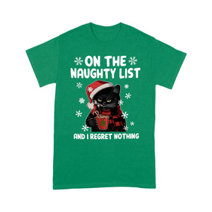 Cat Christmas Lovely Cute Funny Design Tshirt