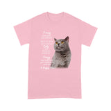 Mess With My British Shorthair Cat T Shirt Funny