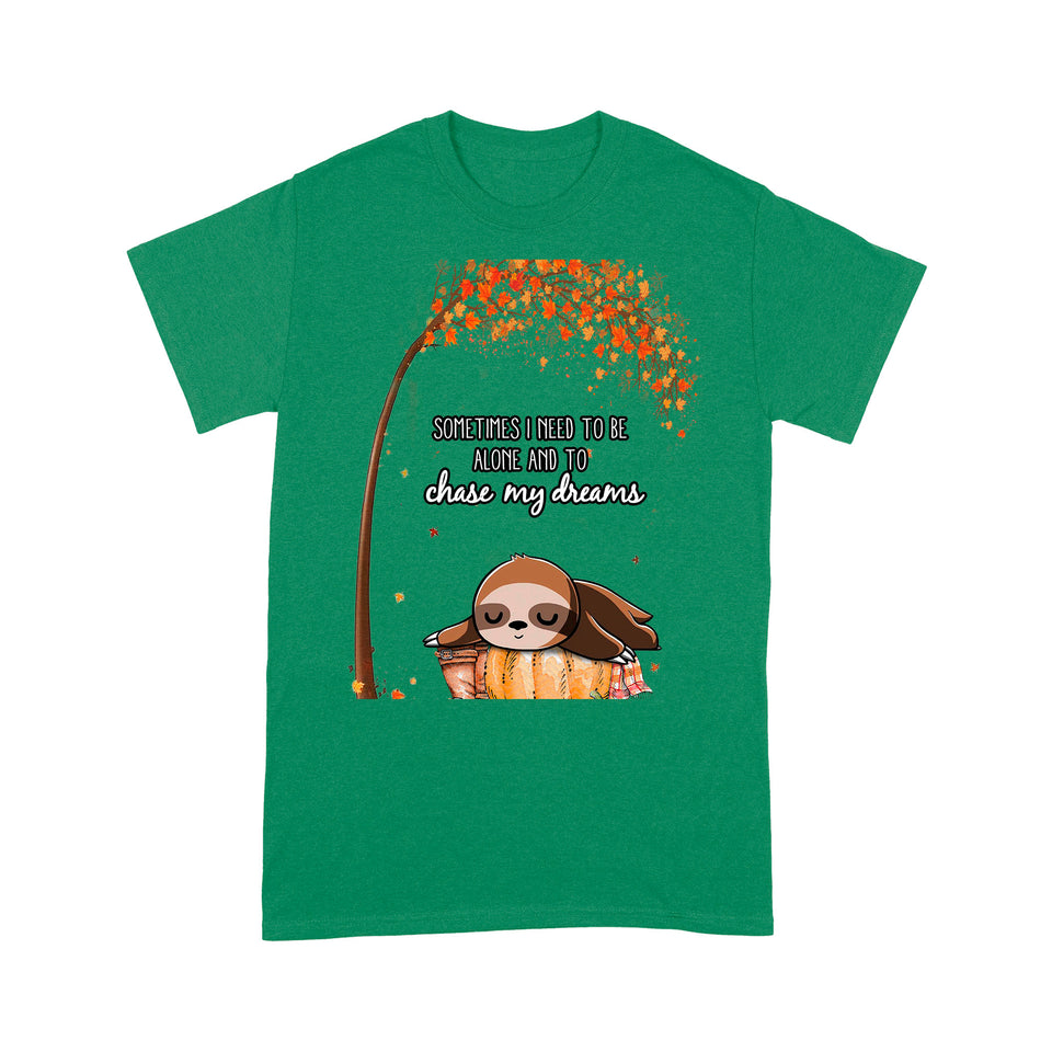 Lazy Sloth Funny Design Tshirt