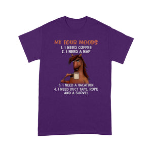 Horses My Four Moods T Shirt