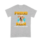 Labrador Retriever Proud Dog Mom T shirt