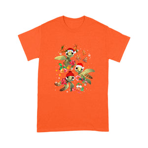 Christmas Squirt Turtle Red T Shirt