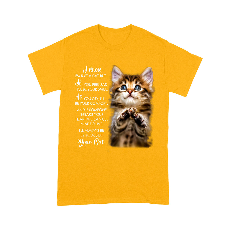 Always Be By Your Side Cat T Shirt Funny