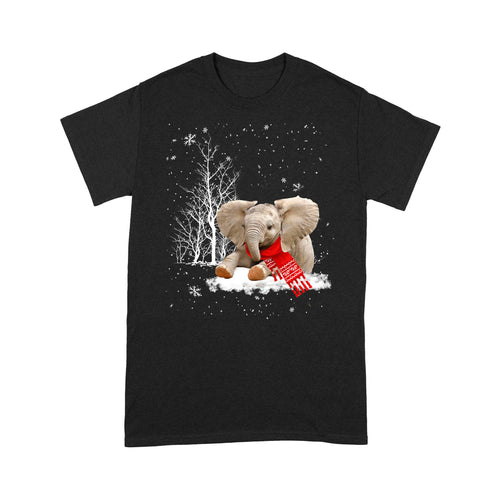 Christmas Elephant T Shirt