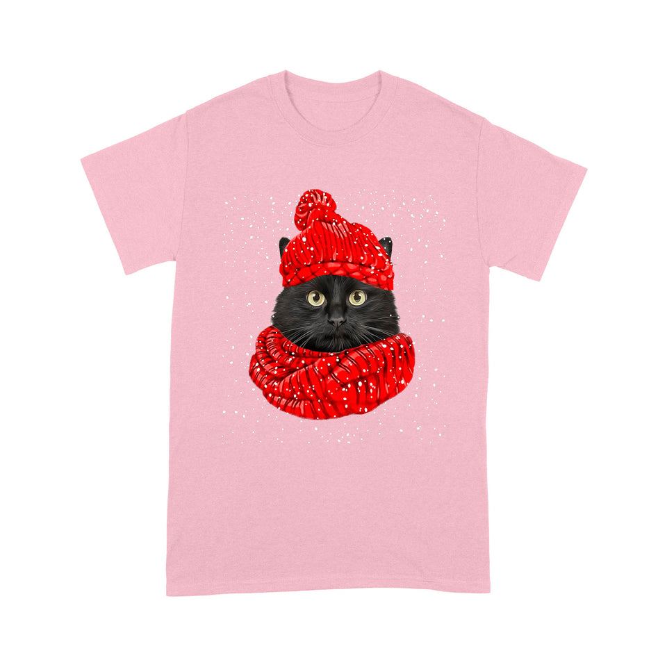 Black Cat T Shirt Funny
