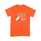 My Siamese Cat Thinks I'm Perfect Crayon T Shirt Funny