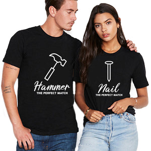 Valentine Hammer And Nail T Shirt