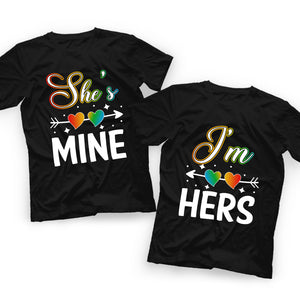Valentine LGBT Couple T Shirt