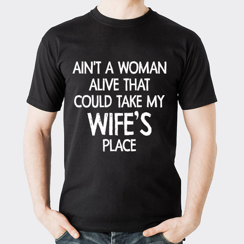 Valentine Wife's Place T Shirt