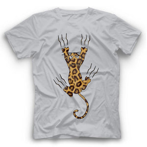 Bengal Cat Claws T Shirt Funny