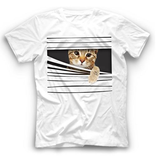 3D Savannah Cat T Shirt Funny