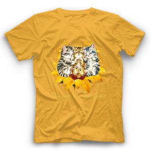 You Are My Sunshine Sleeping Cats T Shirt Funny