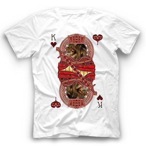 Maine Coon Cat Card T Shirt Funny