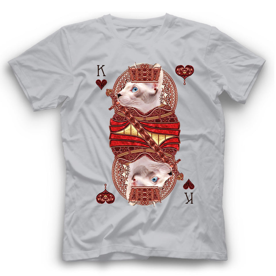 Sphynx Cat Card T Shirt Funny