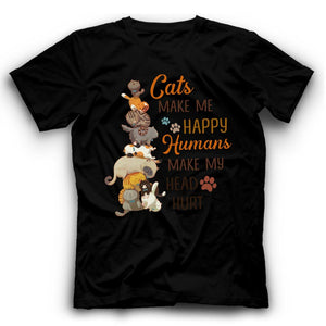 Cats Tower Tshirt Funny