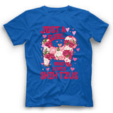 Shih Tzu Just A Girl Who Loves Dog T shirt