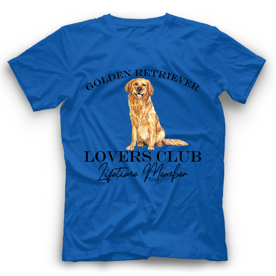 Golden Retriever Lovers Club T shirt
