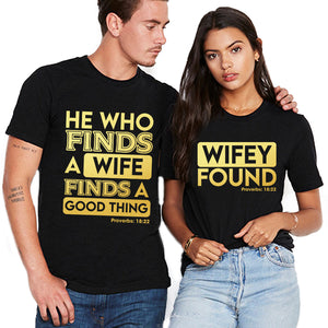 Valentines Find A Wife Couple Tshirt