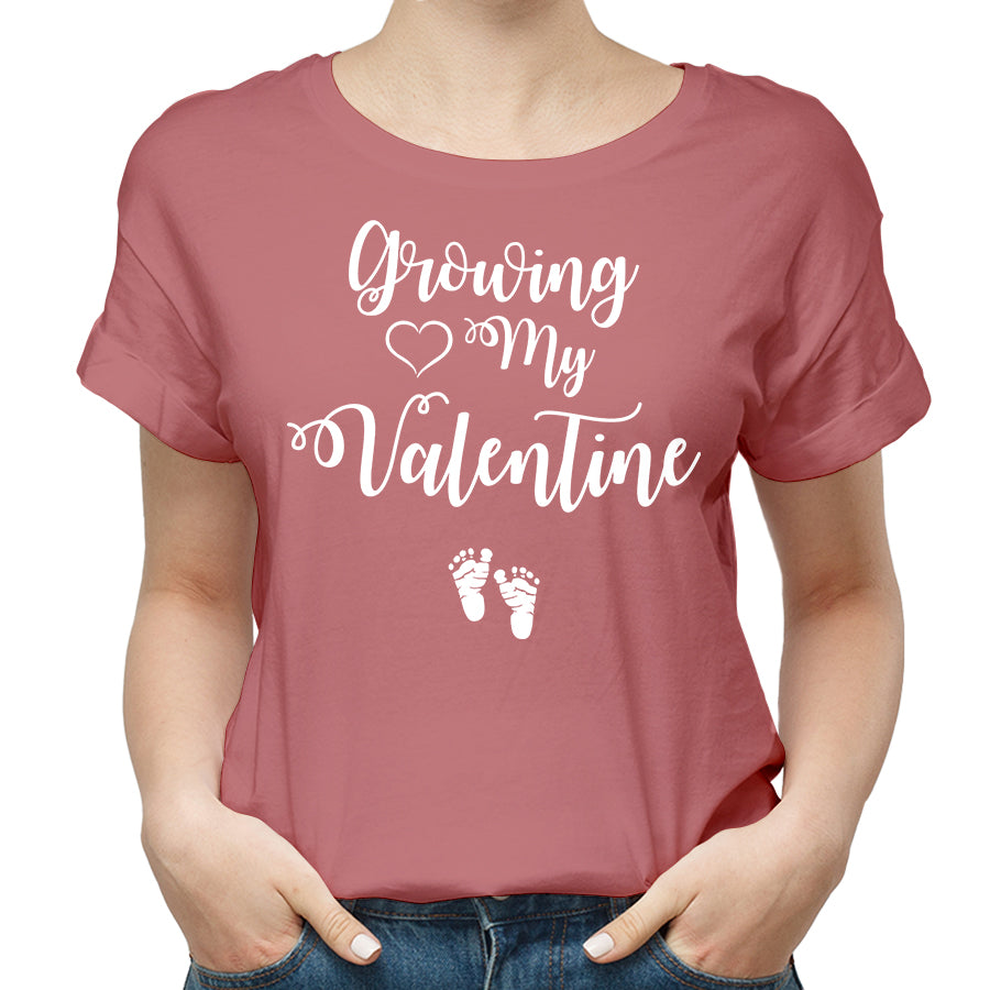 Growing My Valentine Funny T Shirt