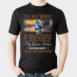 Valentines To My Wife T shirt