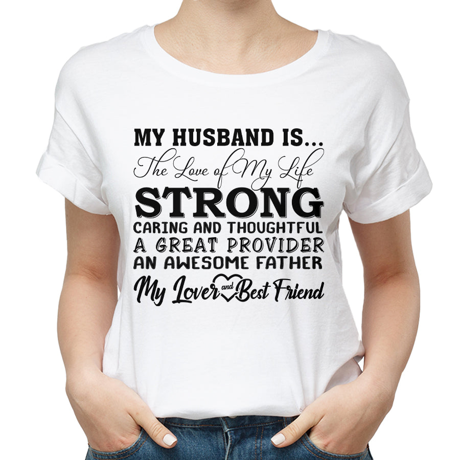 Valentines Husband My Lover And Best Friend T shirt