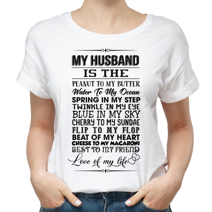 Valentines My Husband T shirt