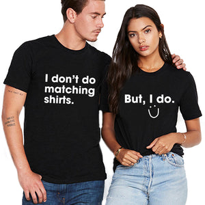 Valentines Matching Couple Funny T shirt