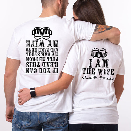 Valentine Beer I Am The Beer Couple T shirt