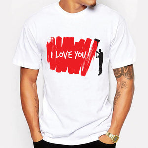 Valentine I Love You T shirt